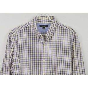 Banana Republic Large Shirt Plaid Button Down